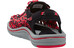 Keen Uneek Slice Fade Sandals Men black/racing red